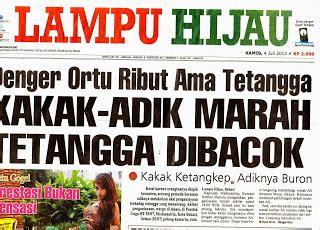 "koleksi k. atmojo 2: koran: ""lampu hijau"" tahun 2013"