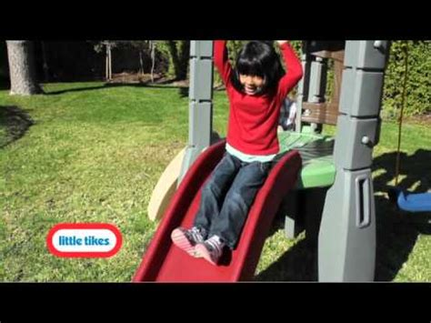 little tikes lookout swing set little tikes endless adventures lookout swing set youtube