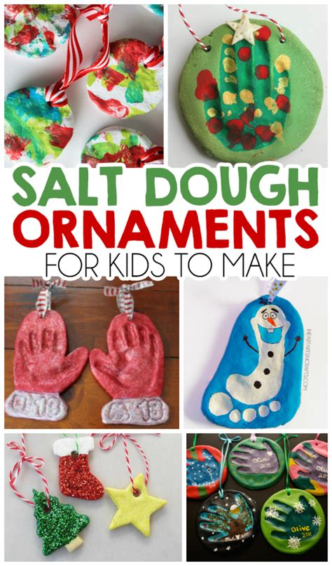 decorations with toddlers 27 salt dough ornaments for i arts