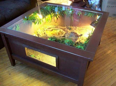 coffee table reptile terrarium turtle coffee table terrarium enclosure reptile