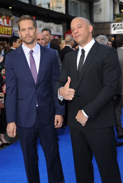 fast and furious london vin diesel and paul walker photos photos fast furious