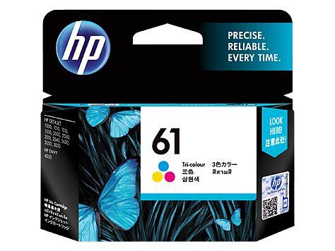 hp 61 tri color ink cartridge hp 61 tri color original ink cartridge ch562wa hp