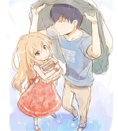 anime couple wallpaper tumblr 龙与虎图片 百度知道