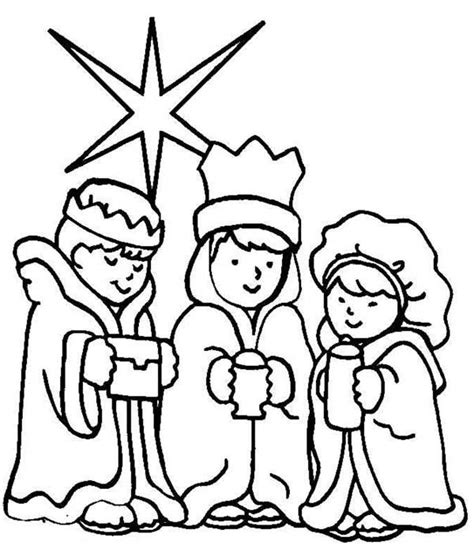 Pictures Of Three Wise Men Cliparts Co Wise Coloring Pages