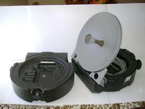 winegard gm mp1 carryout portable satellite antenna rvs dish direct tv cing ebay