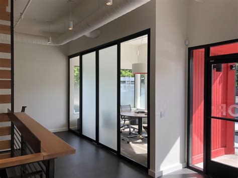 floor  ceiling sliding room divider project space