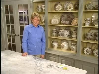 how to display crystal in china video how to display a collection in a martha