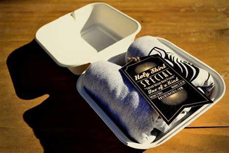 Tshirt Kaos Fast Food 25 creative t shirt packaging design exles