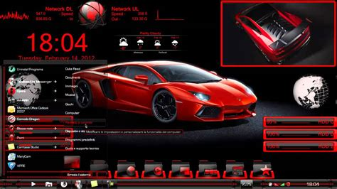 customized lamborghini reventon tema reventon and my customized desktop