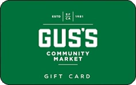 Mother S Market Gift Card Balance - buy gus s community market gift cards at a discount giftcardplace