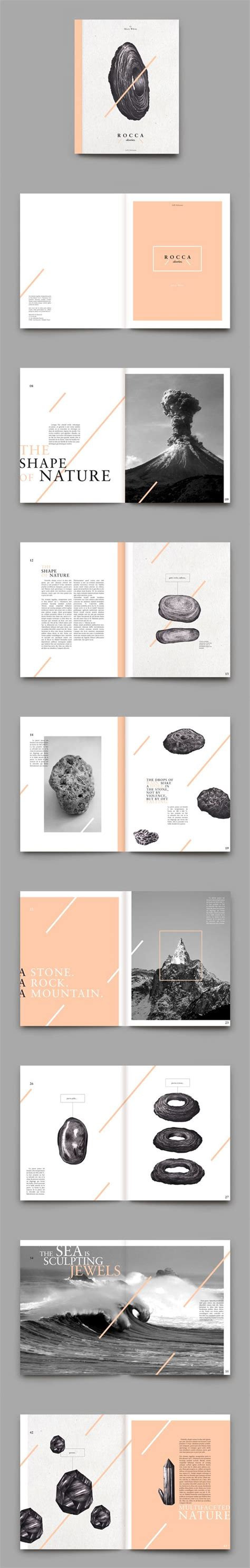 pinterest layout design inspiration r o c c a stories magazine layout design graphic