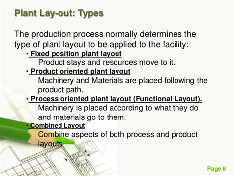product layout merits and demerits plant layouts presentation