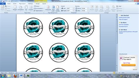 Sticker Template Word release me creations diy wednesday make your own sticker labels