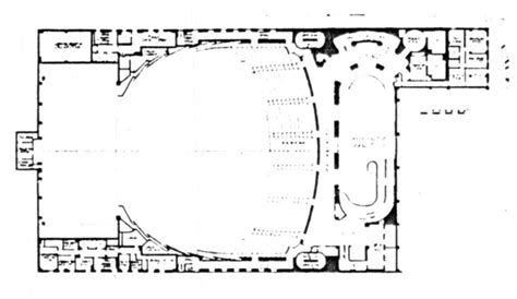 Radio City Music Hall Floor Plan | radio city music hall in new york ny cinema treasures