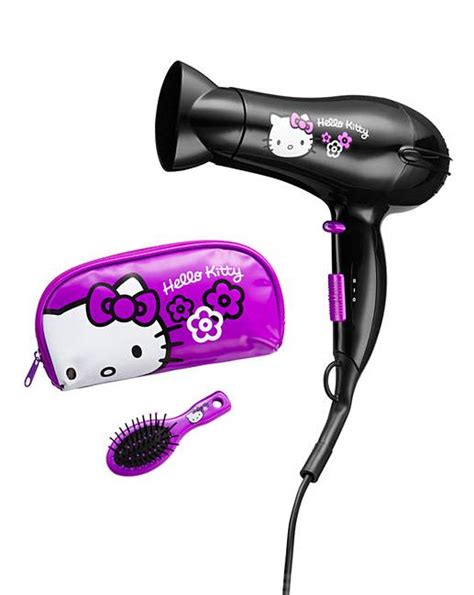 Hello Childrens Hair Dryer hello hair dryer gift set the brilliant gift shop