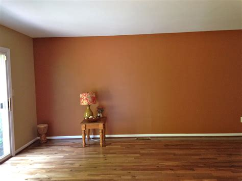 family room sherwin williams accent wall brandywine