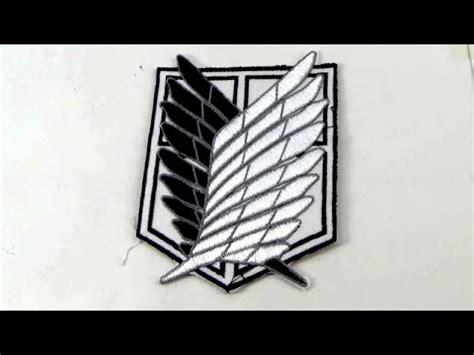 Survey Corps Anime anime attack on titan survey corps arm badge