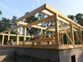 Timber Frame Pergola Plans by Post And Beam Construction Part 2
