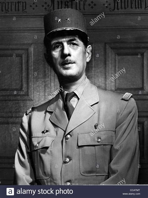 lade galle charles de gaulle in july 1944 stock photo royalty free