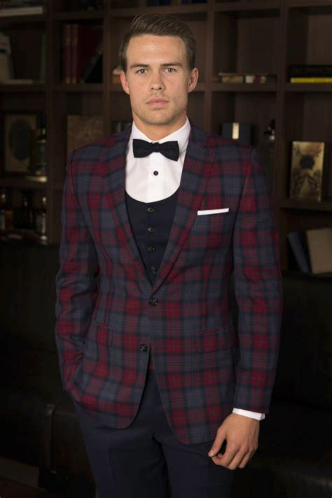 patterned dinner shirt black tie thrifty male