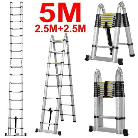 bettdecke 2 x 2 m echelle telescopique 2 x 2 5 m pliante 2 en 1 achat