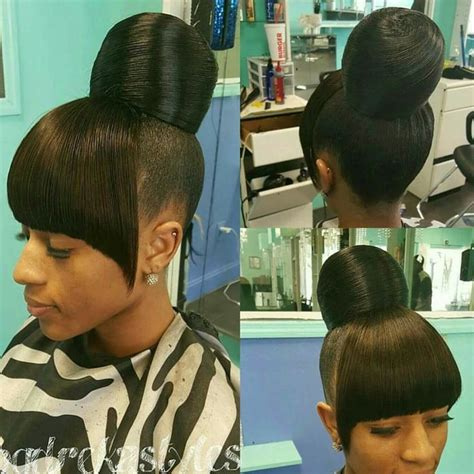 how to do a swoop bang on african american hair pin by radiant sol on her world black beauty hair and