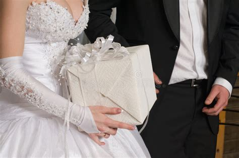 gifts to give to married couples gift to a newly married stock image image of 7849257