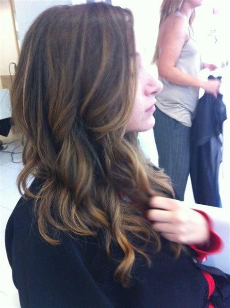 hair highlights bottom highlights hair color pinterest