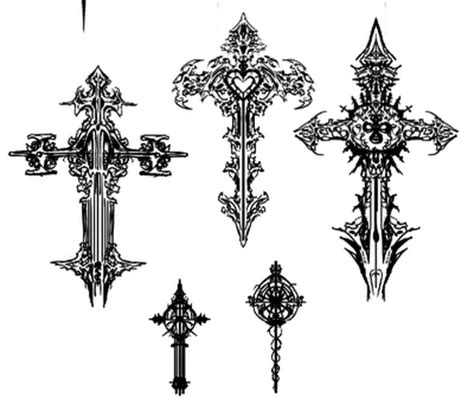 religious cross tattoo designs design christian cross designs