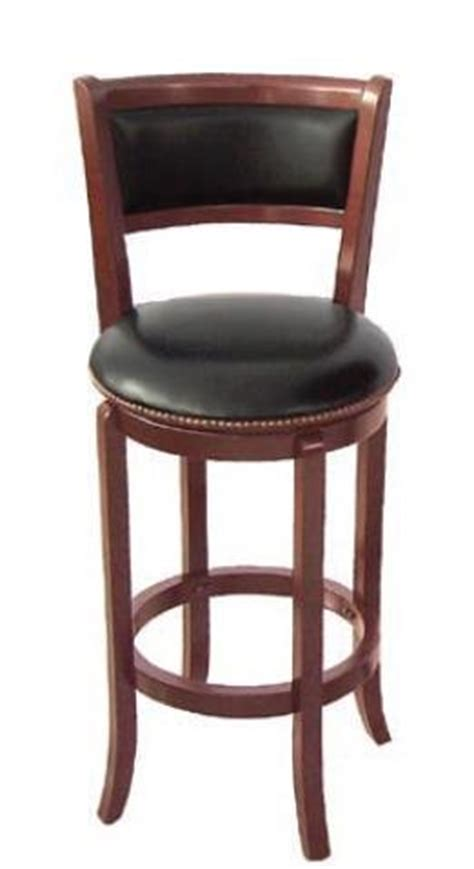 29 Bar Stools With Back Swivel Bar Stool With Back 29 Quot H Cherry Finish Cheap
