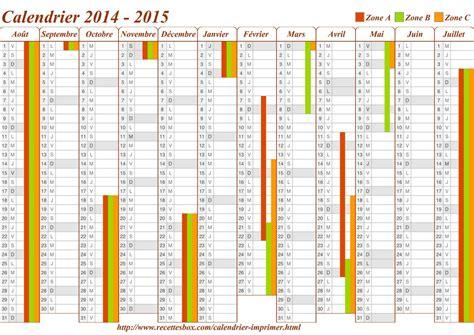 Calendrier Des Vacances Scolaires 2014 Mar 231 O 2015 P 225 2 Direto De