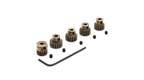 3racing Pinion Gear 48 Pitch 18t 48p pinion gear set 17t 18t 19t 20t 21t horizonhobby