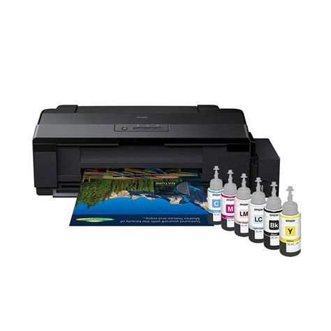 Printer Epson A3 L1800 jual epson l1800 printer hitam a3 harga kualitas terjamin blibli