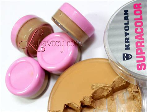 Supracolor Foundation By Kryolan kryolan supra colour base makeup review mugeek vidalondon