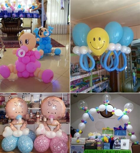 baby shower balloon ideas from prasdnikov stylish