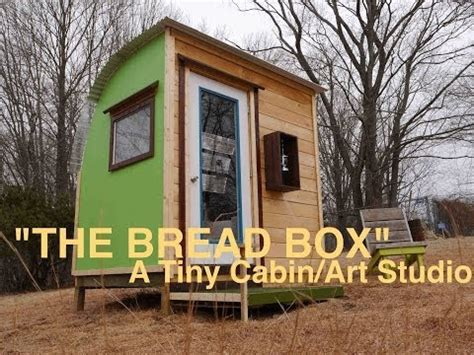 Micro Cabin Plans Quot The Bread Box Quot A Tiny Modern Cabin Art Studio Tree
