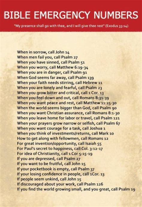 bible 911 quotes
