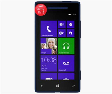 verizon's htc windows phone 8x ships nov. 1 with wireless