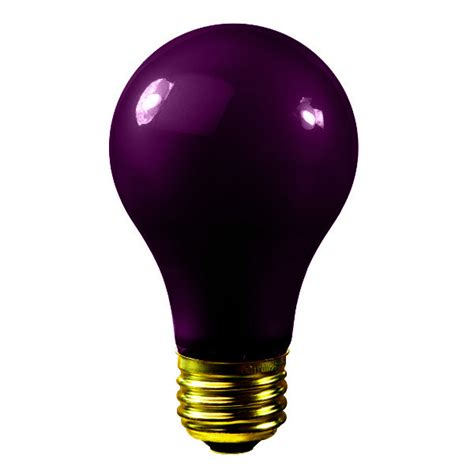 Black Light Bulbs by Bulbrite 106975 75w Black Light Bulb