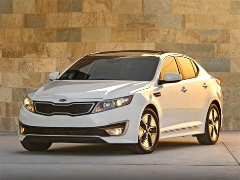 Kia Top 40 2012 Kia Optima Hybrid Price Photos Reviews Features
