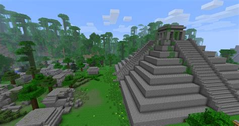 Home Temple Interior Design by Mayans Ruins Minecraft Building Inc