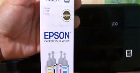 Printer Epson A3 Tinta Sublim cara isi tinta sublim ke printer baru seri epson seri l tinta printer murah