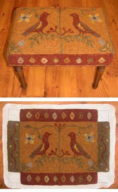 Fashioned Foot Stools by 251 Best Hooking Rugs O Ld Fashioned Images On