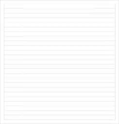 college ruled paper template sle college ruled paper template 9 free documents in