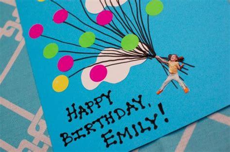 Birthday Paper Crafts - easy balloon birthday card inner child