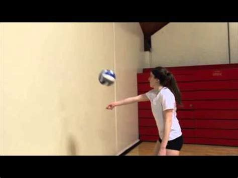 volleyball arm swing drills fitivity volleyball one arm hitting off the wall