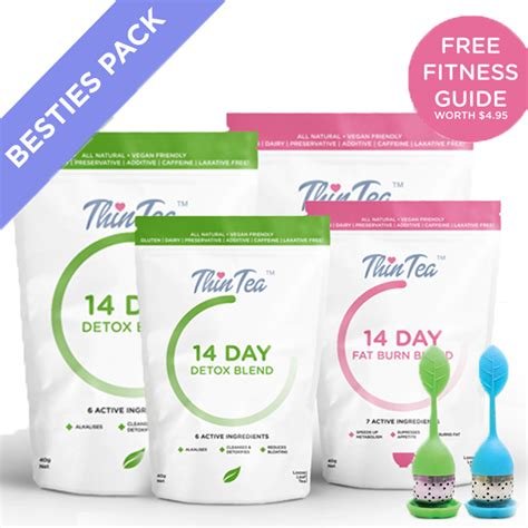 Detox Complete Complementery by Claritea Thin Tea All Weight Loss Detox Tea