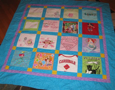 Quilt From T Shirts by Adding Creativity To Your T Shirt Quilt Part Ii