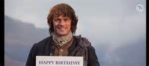 real quick outlander birthday surprise that s normal