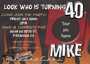 free 40th birthday invitations templates 40th birthday invitation free templates